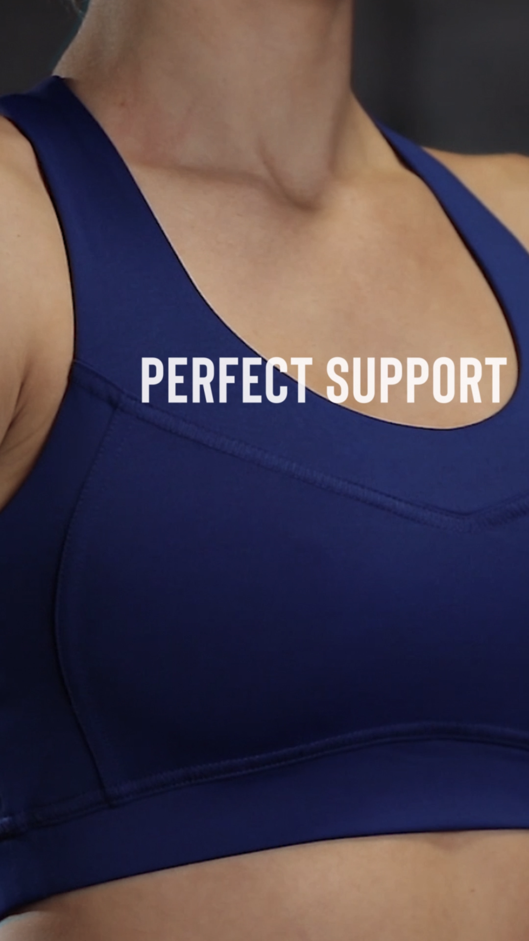 Offering support for high-intensity workouts, the altium bra is snug