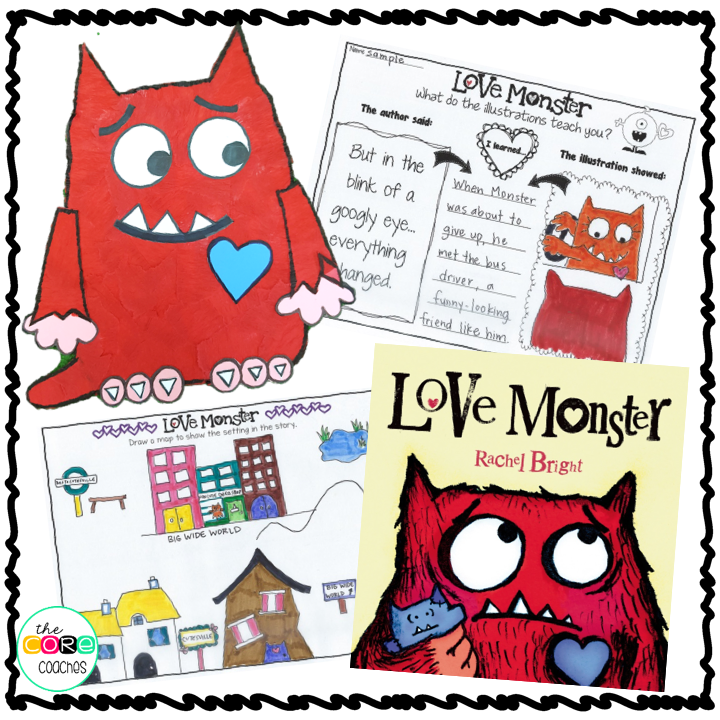Make A Map Of The Story S Setting Love Monster Love Monster Monster Theme Classroom Monster Activities