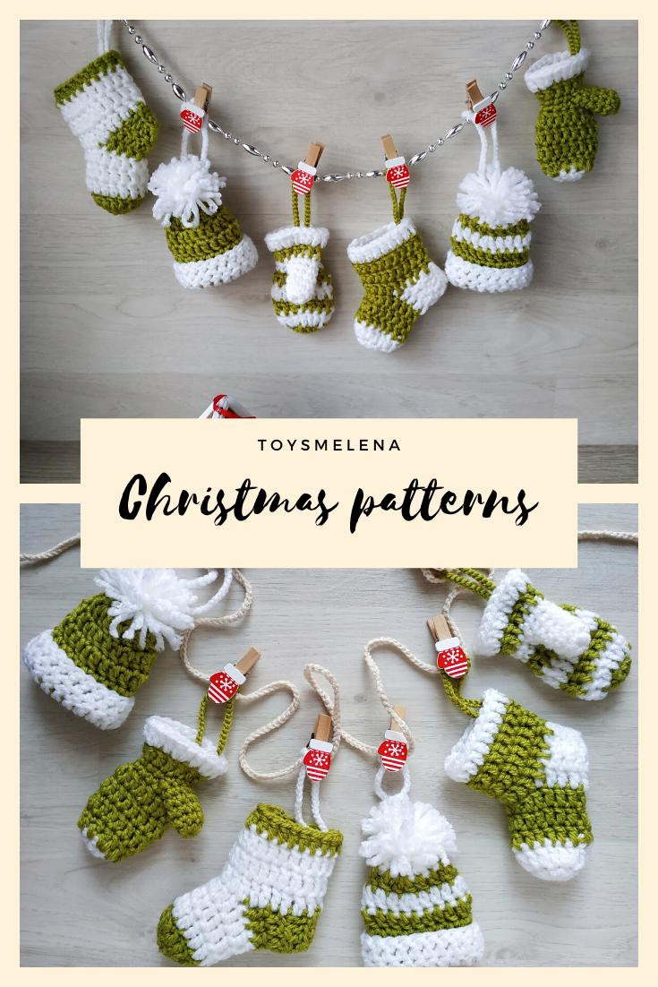 Christmas crochet pattern #stuffedtoyspatterns