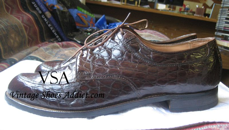 Crocodile Shoes Alligator Mens Shoes From A Vintage Perspective Crocodile Shoes Dress Shoes Men Men S Shoes