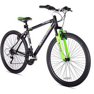 Walmart 29 Genesis Gs29 Men S Mountain Bike Black Green Mens Mountain Bike Mountain Biking Bike