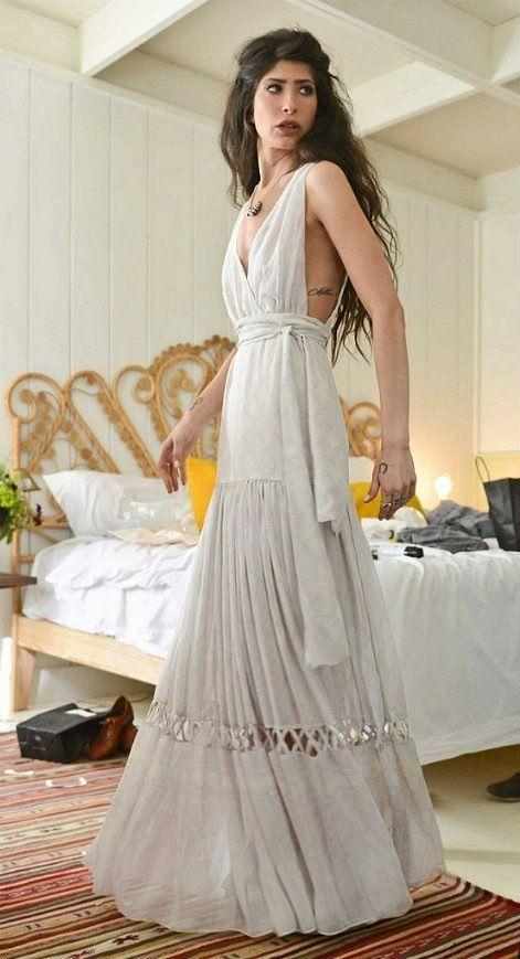 Trauzeugin kleid hippie
