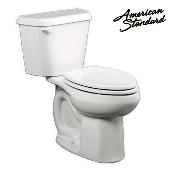 American Standard ADA 1.6 GPF Elongated Tank Type Toilet Bowl ...