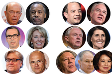 Donald Trump's Cabinet is Almost Complete. Here's the Latest List ...