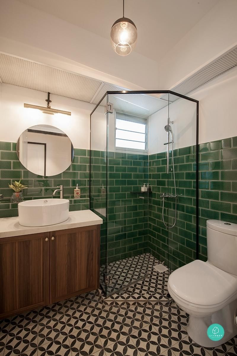 Bathroom Makeovers Central Coast 9 hdb bathroom transformations for every budget | spaces, toilet