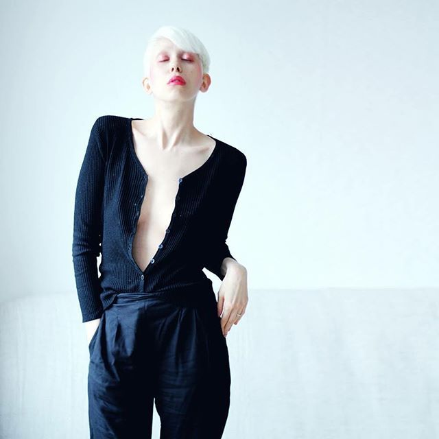 WEBSTA @ jennymustard - new haircut and freshly bleached !by whom ?by david of course !check it out at jennymustard.com
