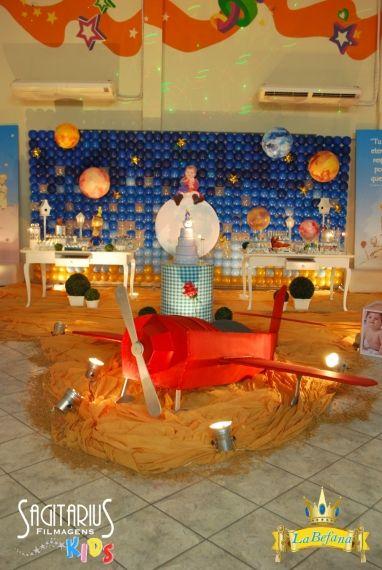 decoração festa pequeno princípe
