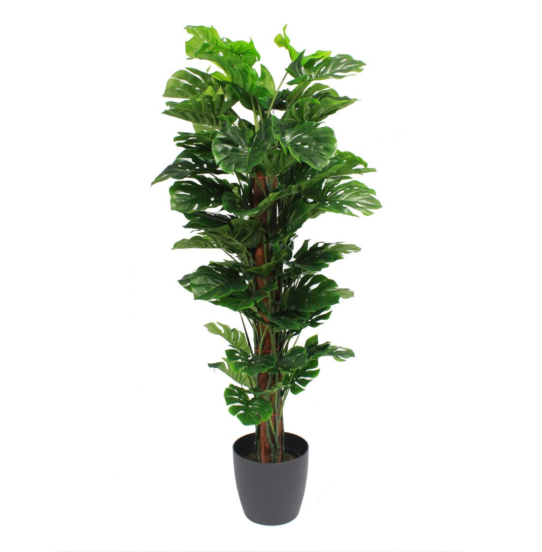 Artificial Cheese Jungle Plants Blooming Artificial Plants Cheese Plant Swiss Cheese Plant