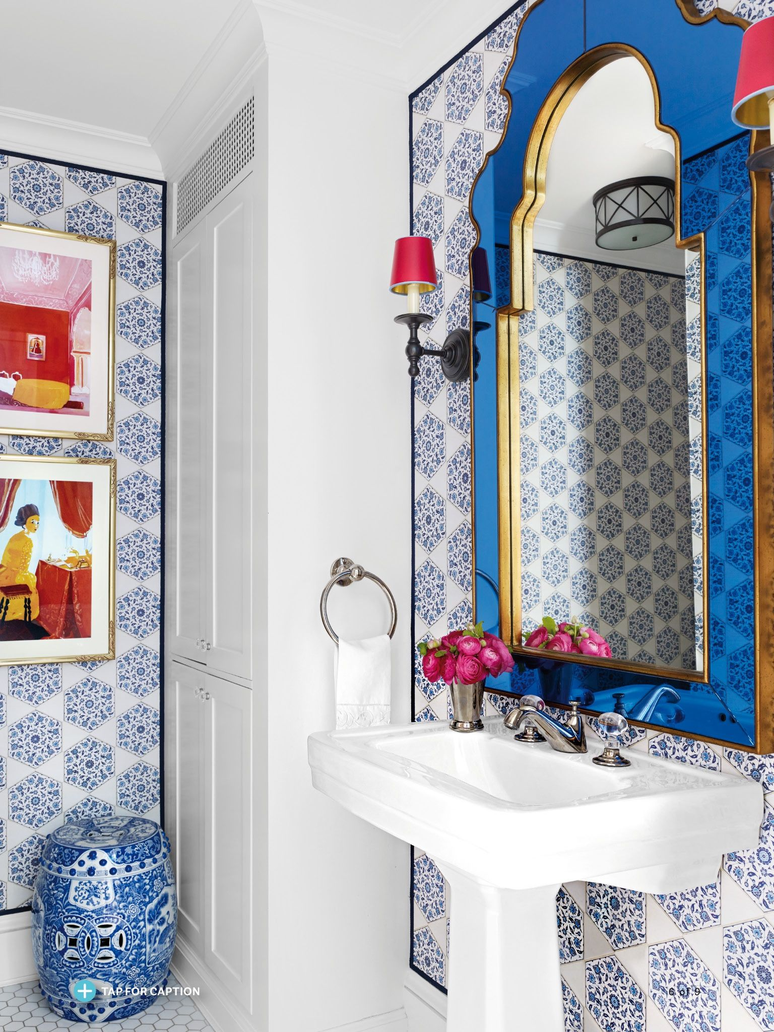 I saw this in the September 2016 issue of @HouseBeautiful.   http://bit.ly/1ySrLfl