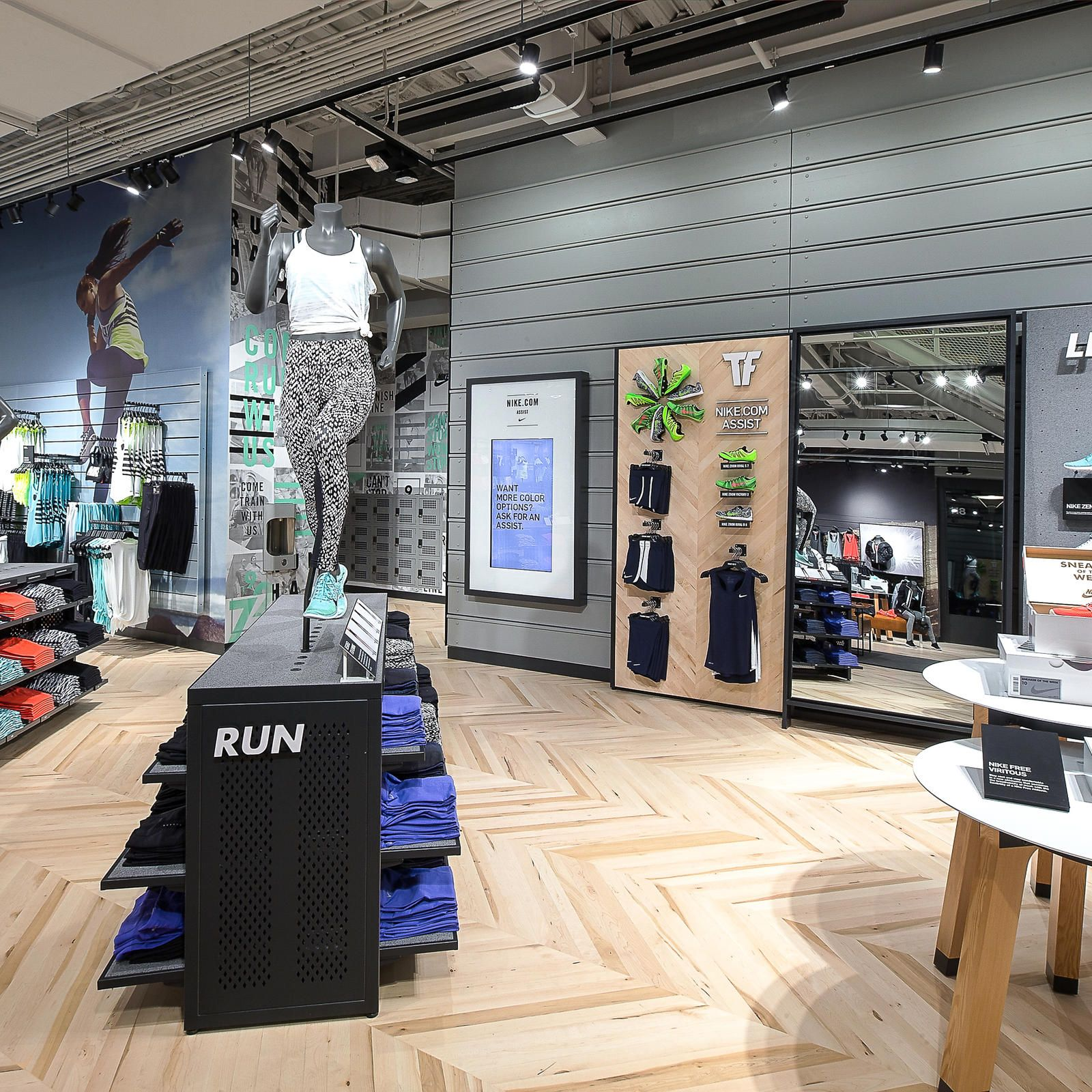 Nike reopens santa monica store with new focus on women 39 s - Santa monica interior design firms ...