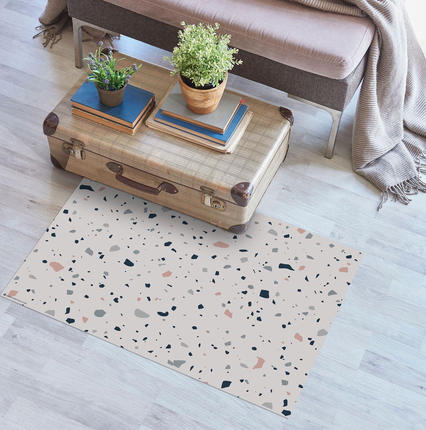 Terrazzo Floor Mat Scandinavian Style Modern Rug
