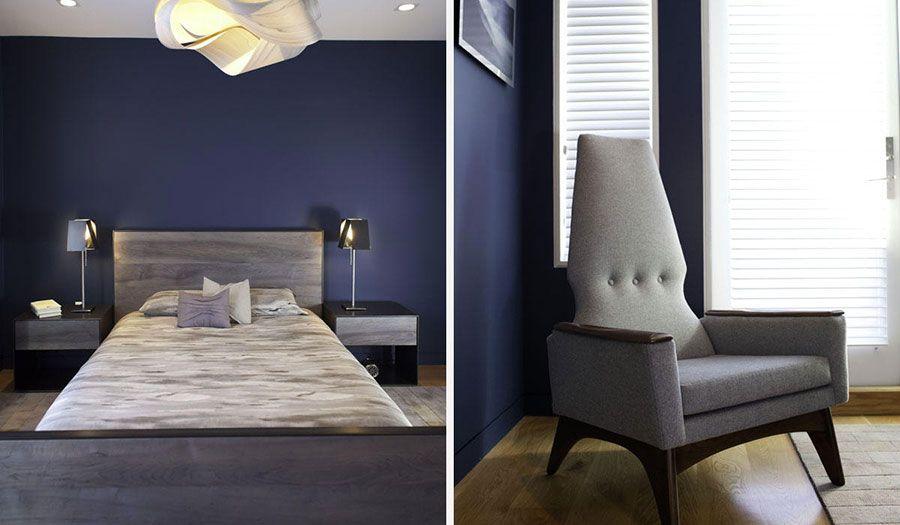 Camera Da Letto Blu Notte : Camere da letto blu tante idee di arredo con diverse sfumature