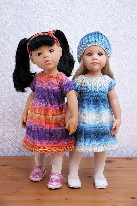 18 Zoll historische Puppe Kleidung Colonial Kleid Schürze und Runde ...