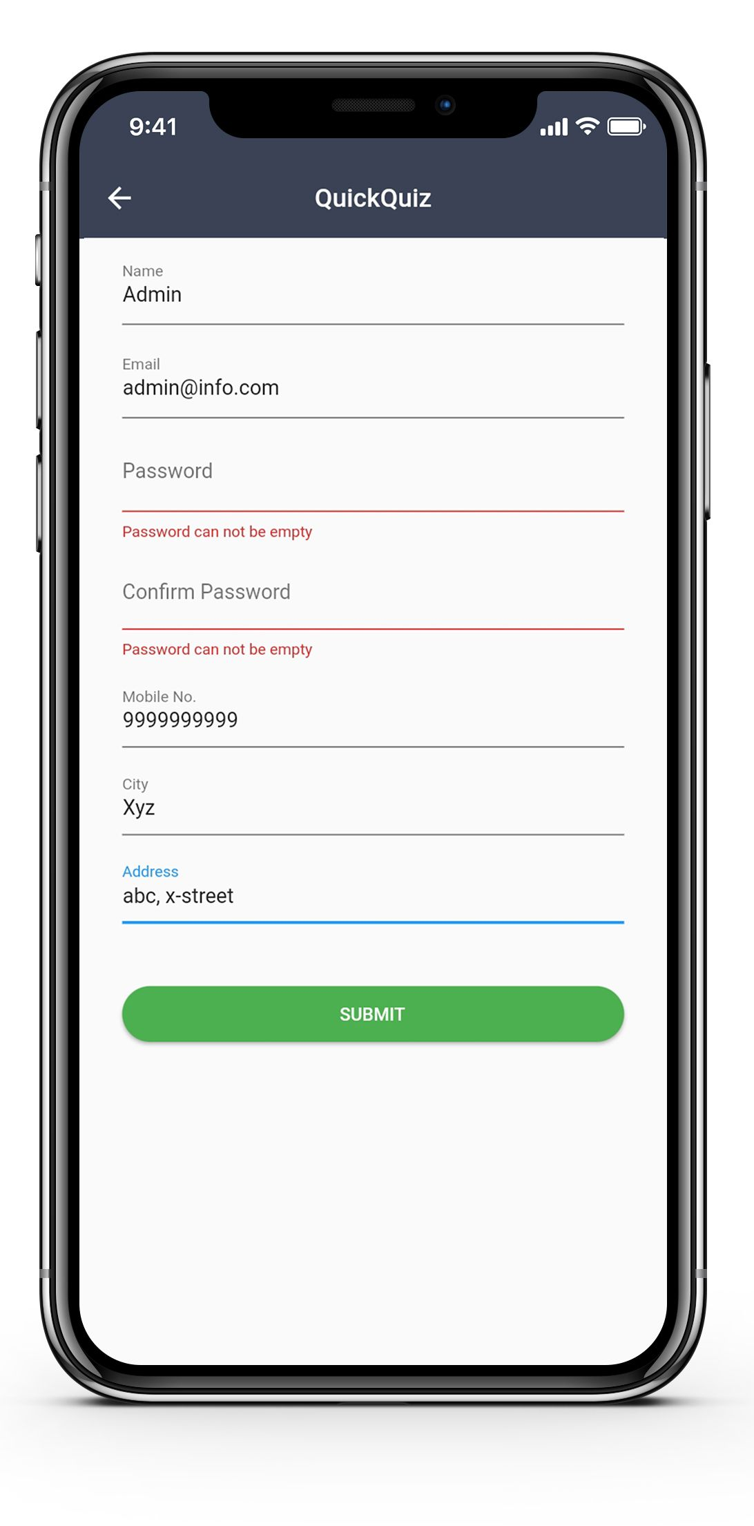 Quick Quiz Quiz And Exam System Web And Mobile App With Images