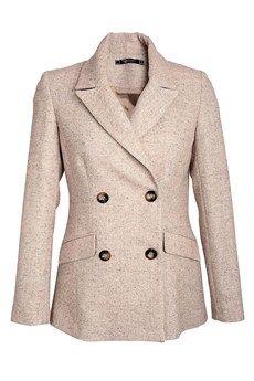 RAXEVSKY EUGENIA Beige Riding Jacket - CLOTHING | JACKETS/CARDIGANS | PRET-A-BEAUTE.COM $149.72