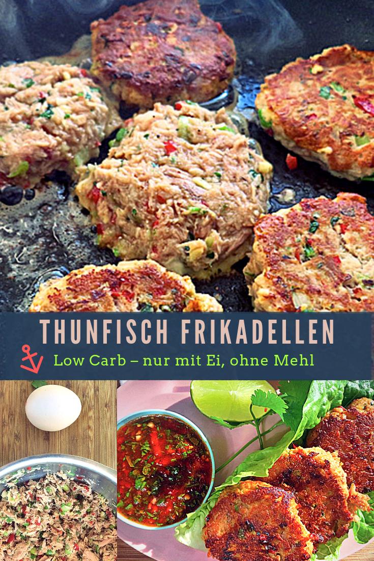 Tuna Cakes - low carb, aus Dosen-Thunfisch