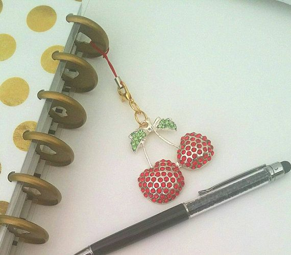 Check out this item in my Etsy shop https://www.etsy.com/uk/listing/269415780/cherry-planner-charm-happy-planner