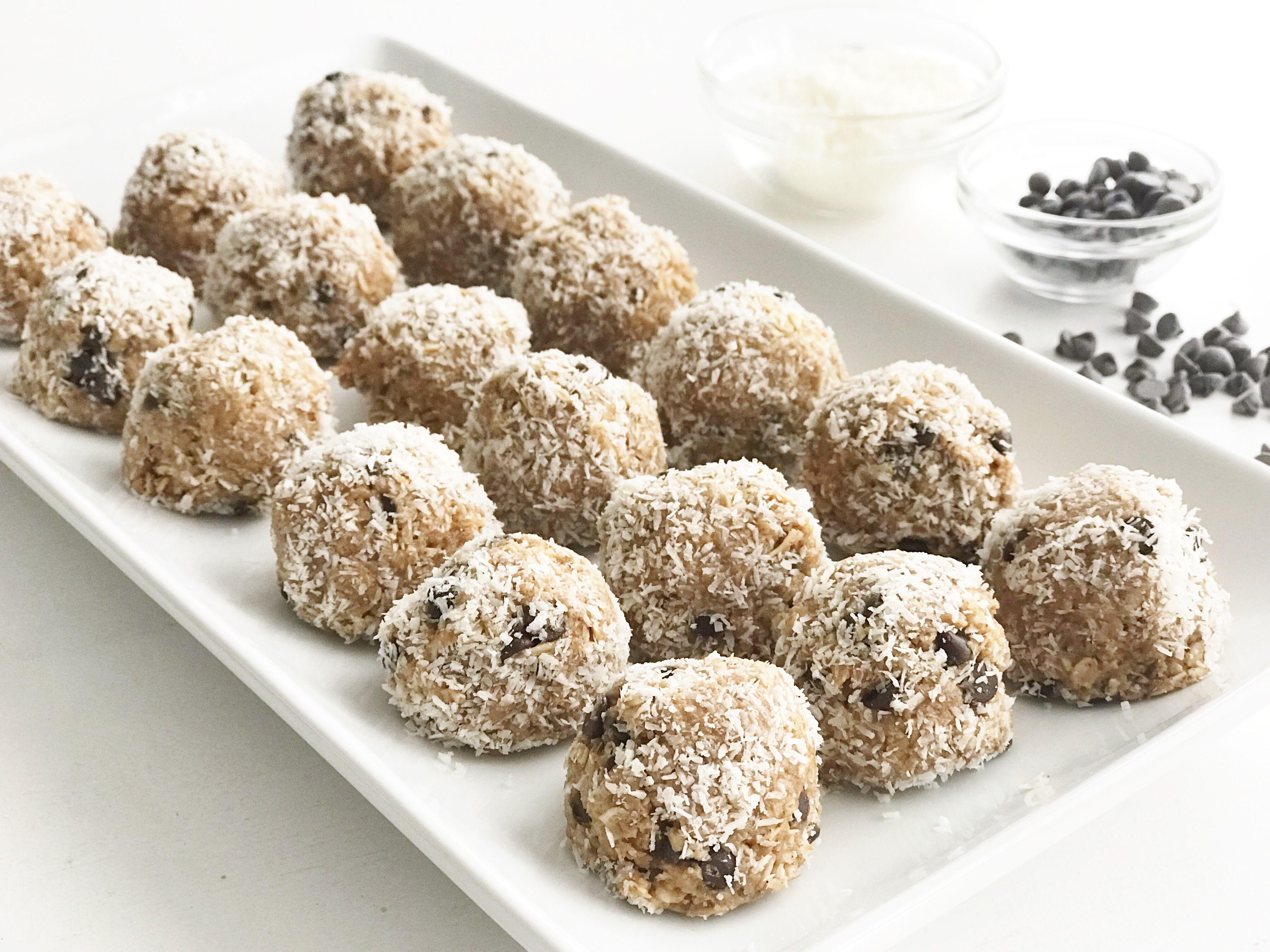 Almond joy protein balls recipe protein balls recipes