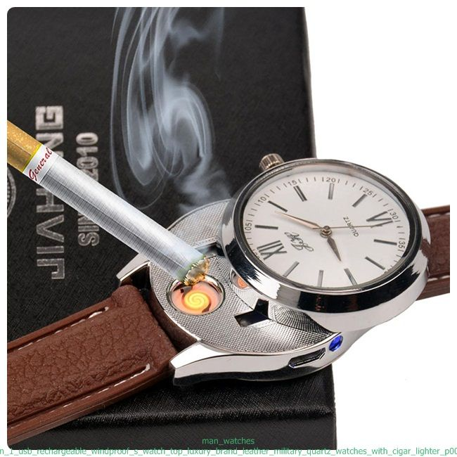 21dbfaad355 USB Lighter Watch- Inspired by the roaring and the rise of hidden  speakeasies