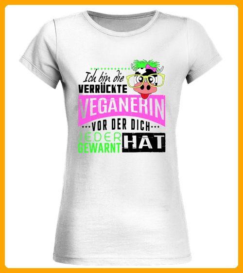 Verrckte Veganerin Vegan - Tiger shirts (*Partner-Link) #veganerin