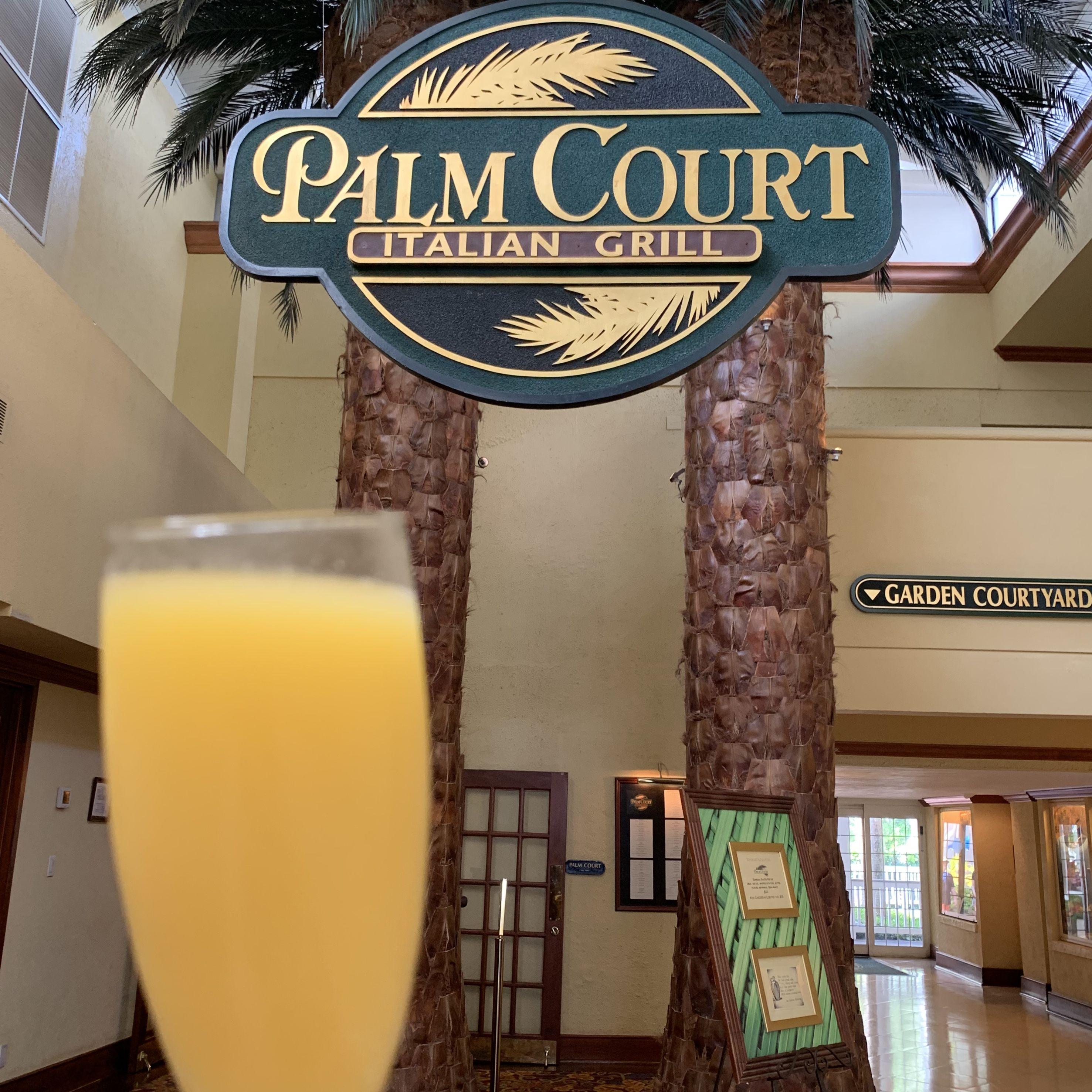 Do you love brunch? Palm Court hosts a great brunch on