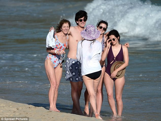 Caroline kennedy enjoys spring break with her family in st barts thecheapjerseys Choice Image