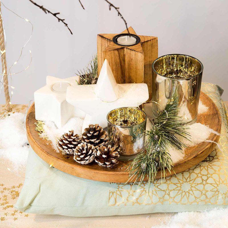 ein sch ner weihnachtsteller voller sterne decoration pinterest weihnachtsteller sterne. Black Bedroom Furniture Sets. Home Design Ideas