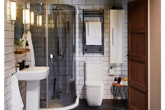 Affini Bathroom Suites Bathroom Rooms Diy At B Q Bathroom Design Inspiration Bathroom Decor Bathroom Design Small