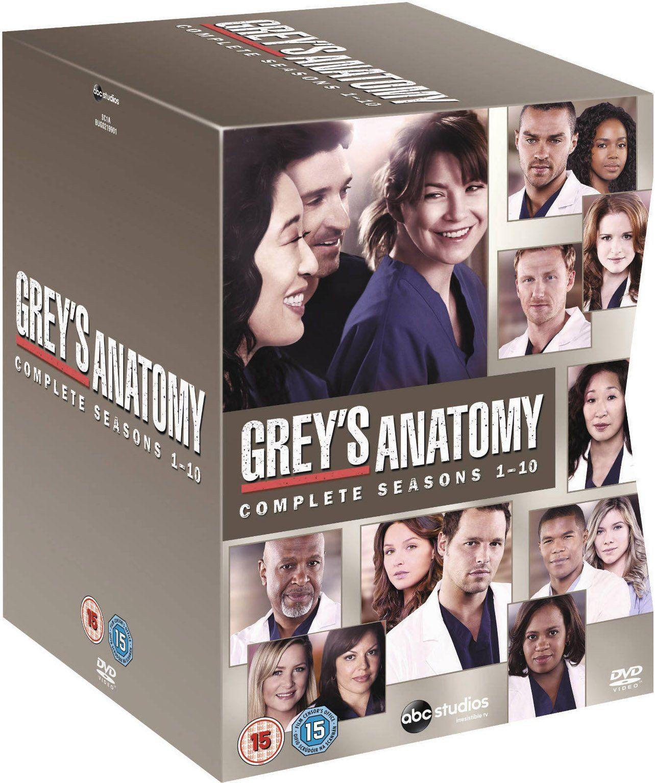 Grey\'s Anatomy - Season 1-10 [DVD]: Amazon.co.uk: Ellen Pompeo ...