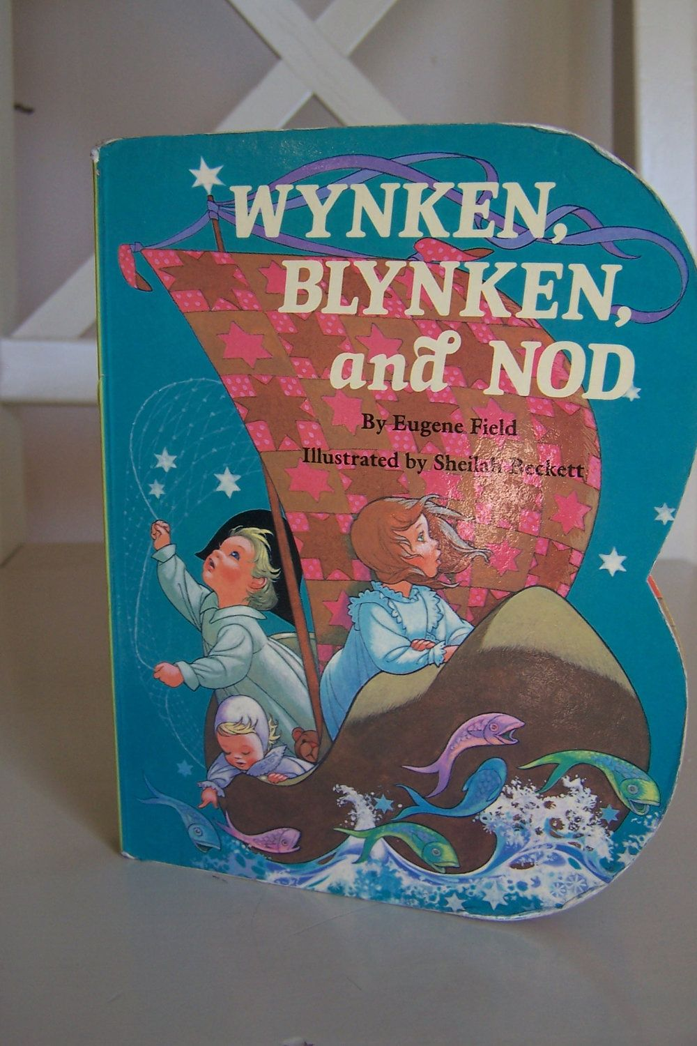 Wynken Blynken And Nod Children S Board Book By Eugene Etsy Eugene Field Books Board Books