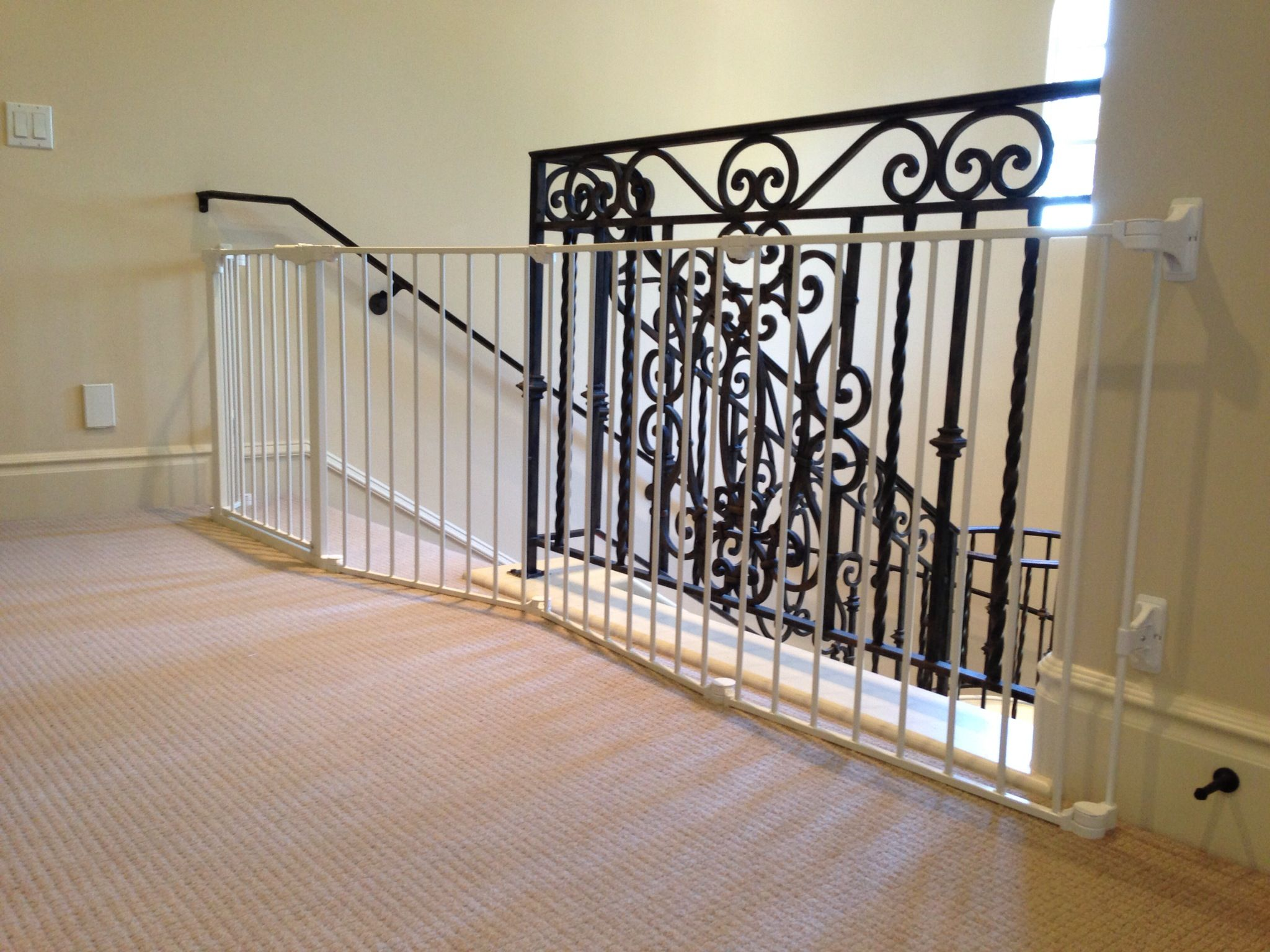 Custom Large And Wide Child Safety Gates Baby Safe Homes Foyer