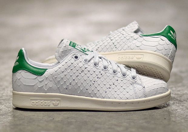 adidas stan smith wit snake