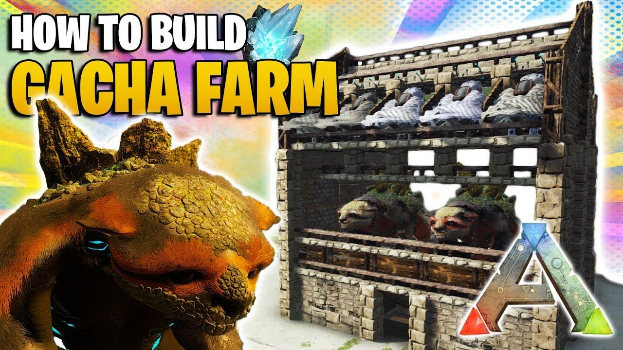 How To Build A Gacha Farm | Ark Survival Evolved - YouTube
