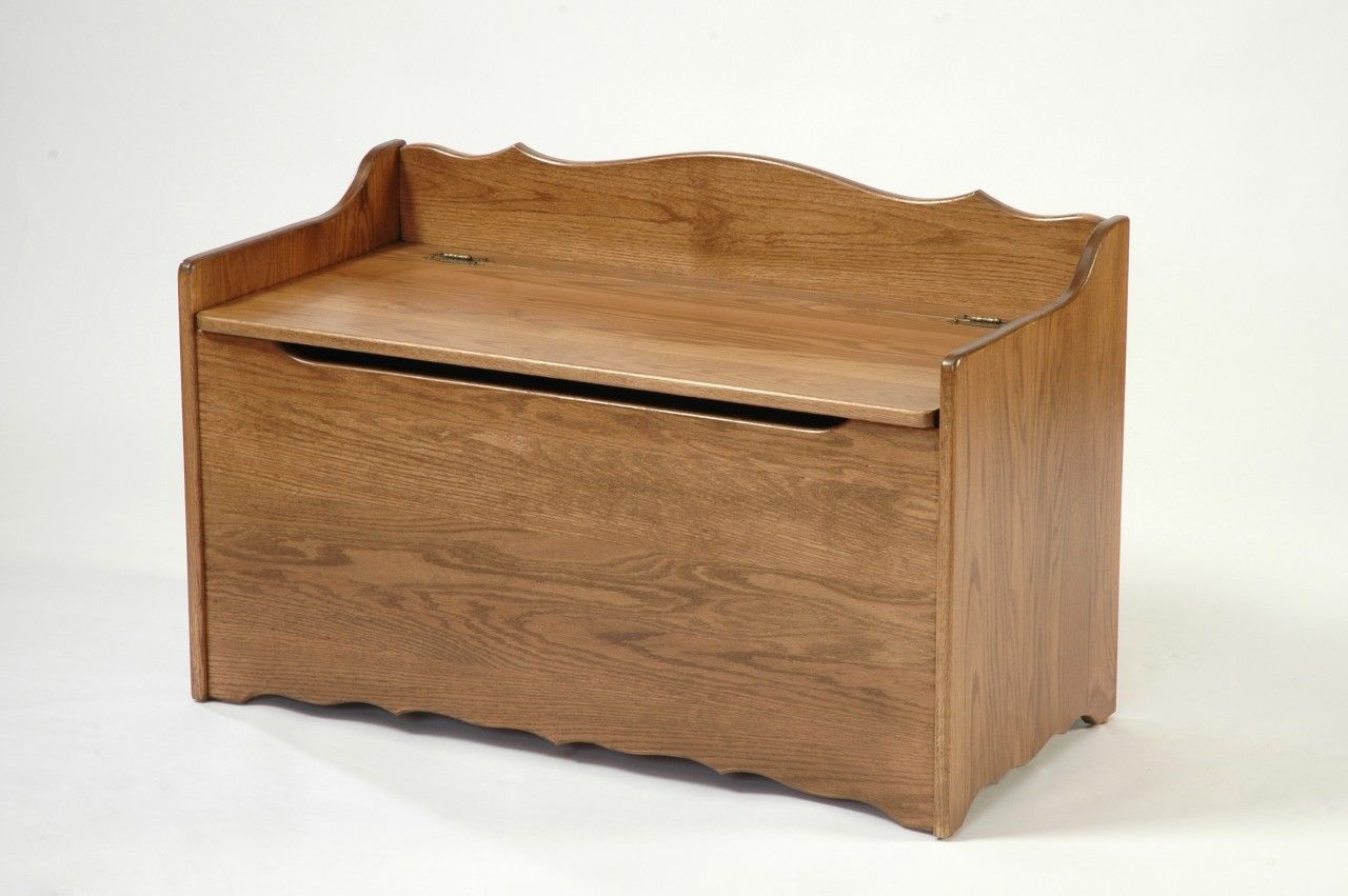 Wooden Toy Chest Bench Plans Diy Blueprints Toy Chest