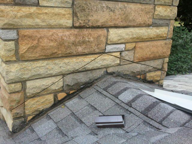 Image Result For Metal Roof Flashing Stone Chimney