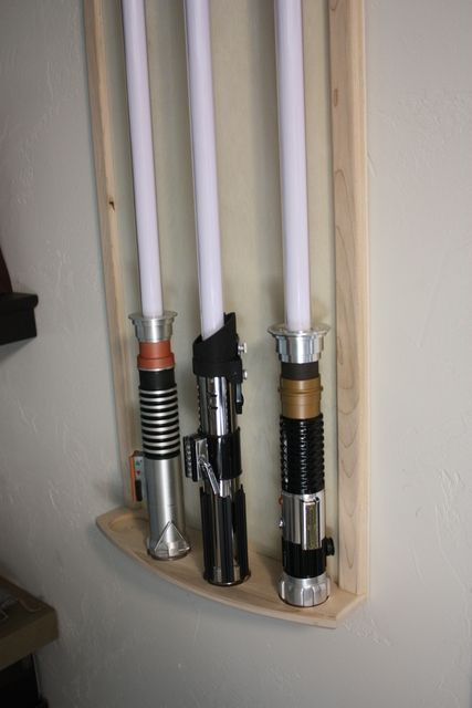 Lightsaber Display Wall Mount Star Wars In 2019