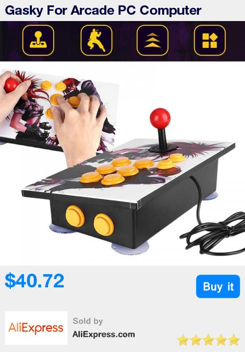 Gasky For Arcade PC Computer Games Handle USB Joystick