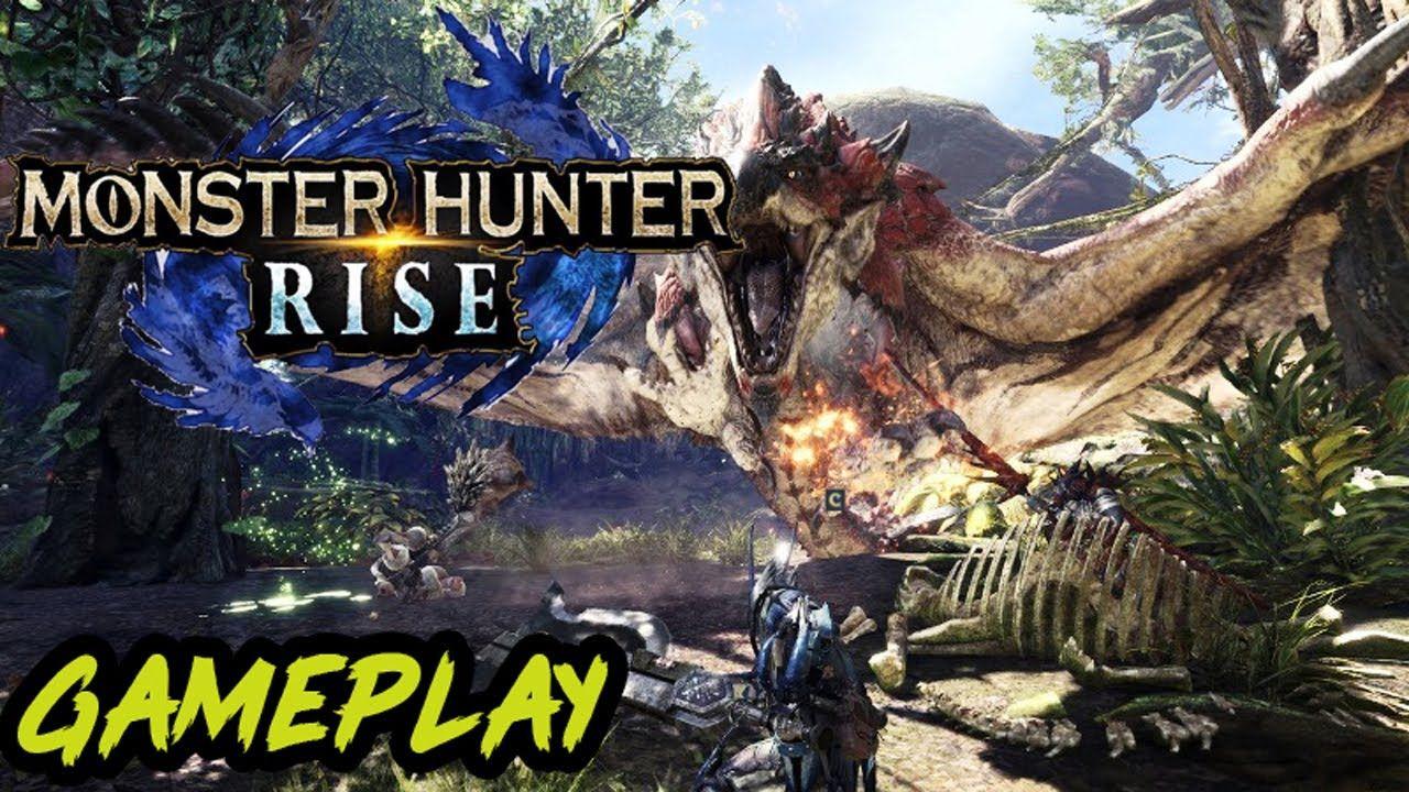 Monster Hunter Rise Longsword Gameplay Monster Hunter Gameplay Hunter