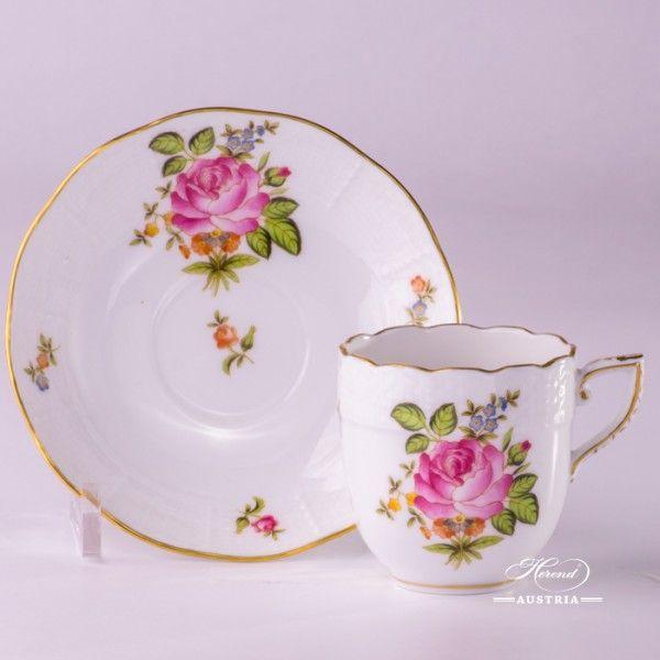 Tasse à thé ou Tasse à café avec soucoupe – Herend chinois