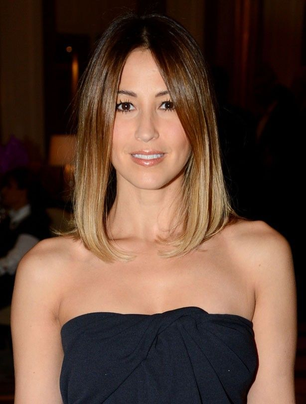 shoulder length ombre - google