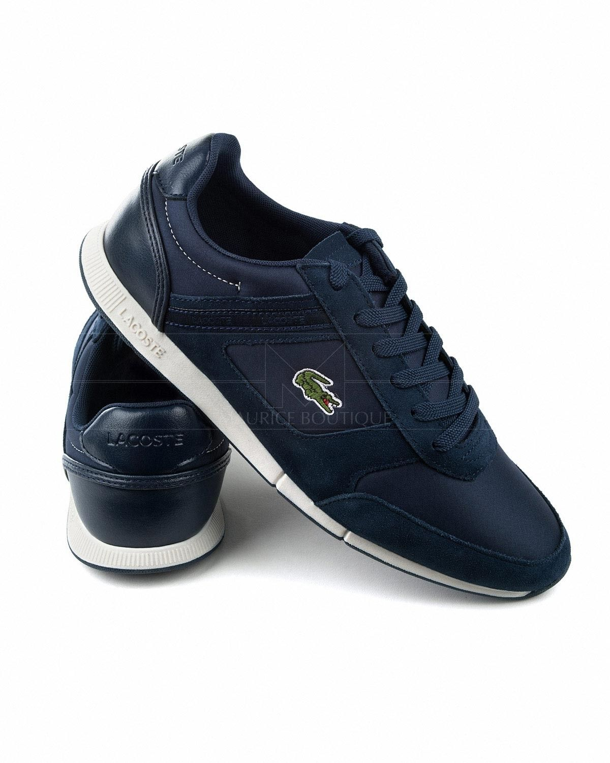 a193ec5bb06e Lacoste Menerva Sport Trainers - Navy Blue in 2019