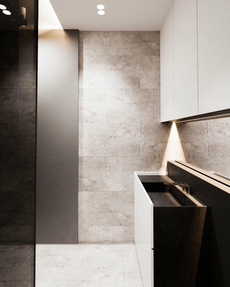Appartement avec intérieur contemporain aux couleurs neutres ...