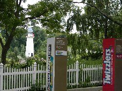 Lighthouse at Hershey Park in Hershey, Pennsylvania
