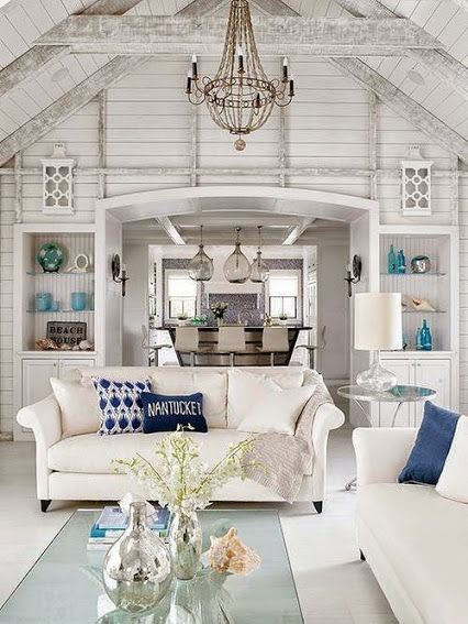 The Art Of Staging Google Chic Beach House Coastal Living
