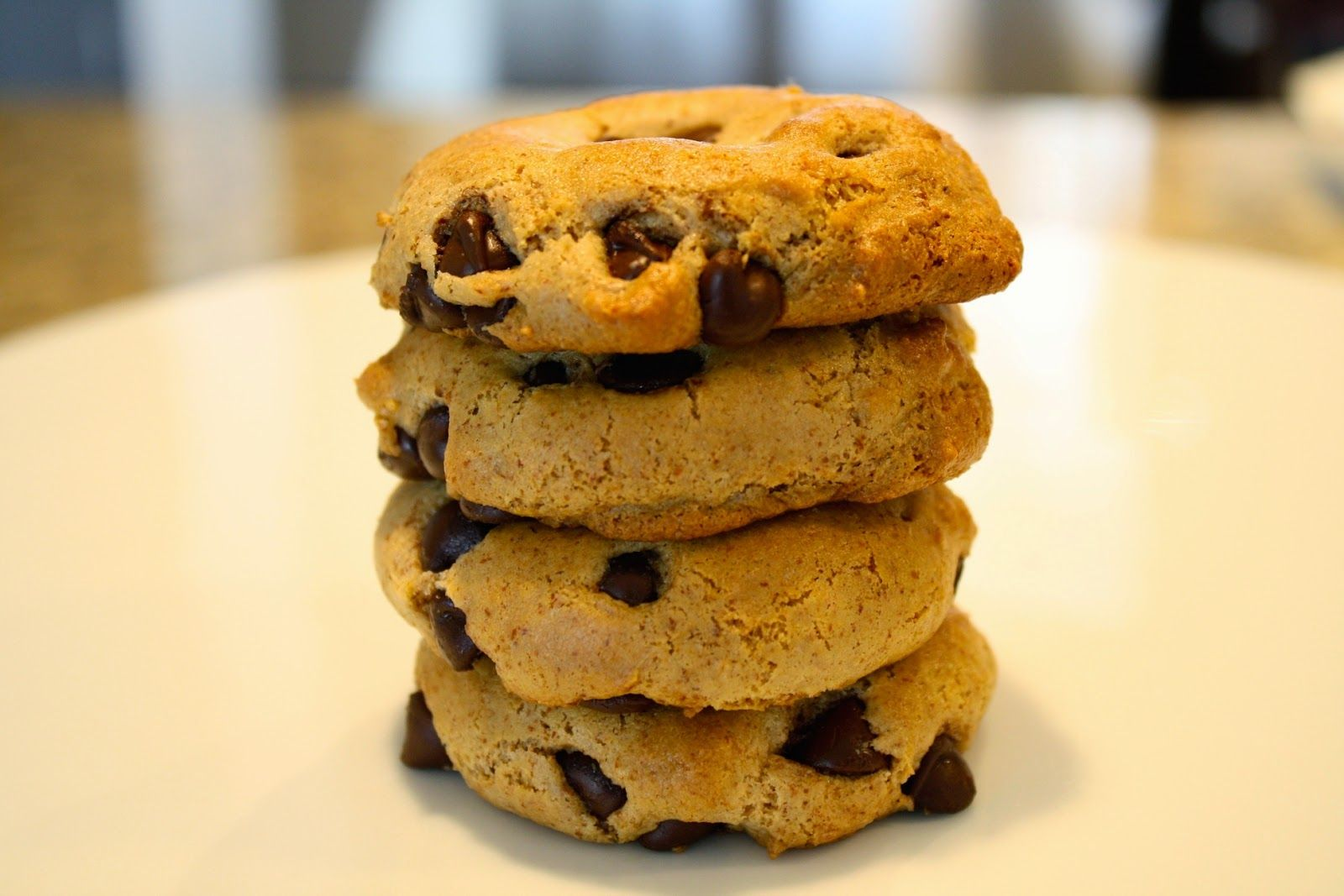 L I V · F O R · C A K E: Almond Butter Chocolate Chip Cookies