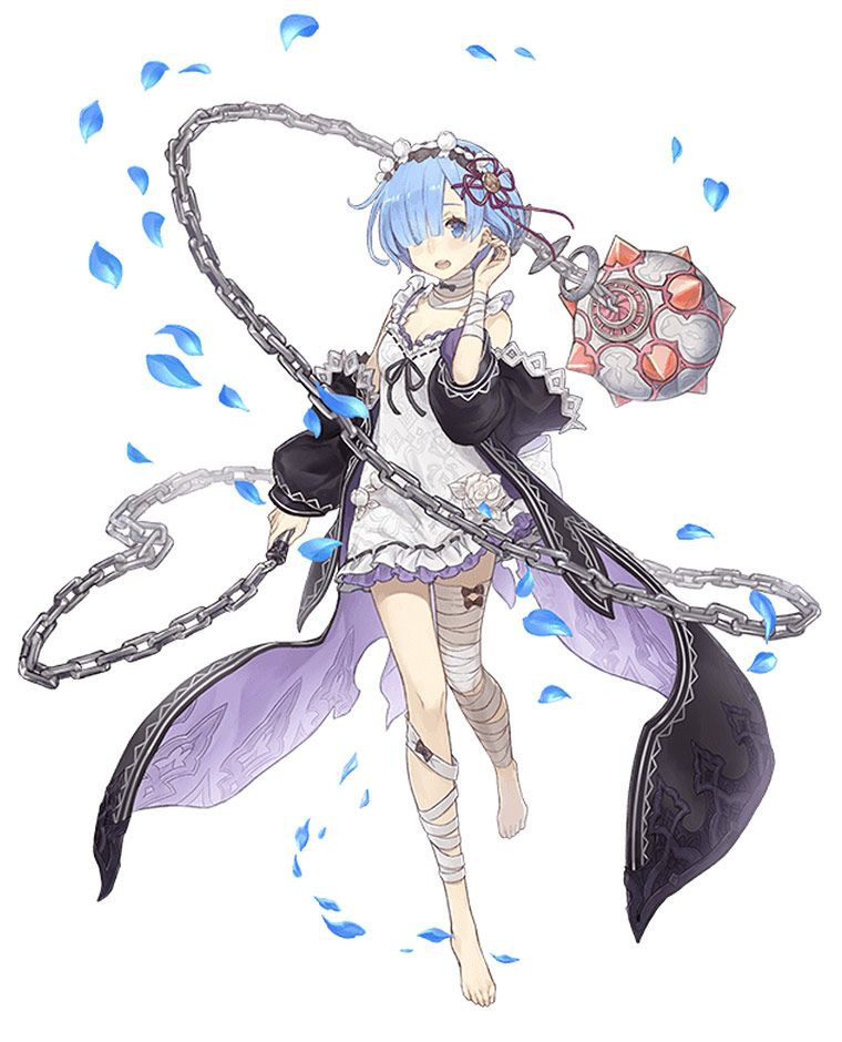 Rem Crusher Job Art Sinoalice Art Gallery Character Art Kawaii Anime Anime Art Girl