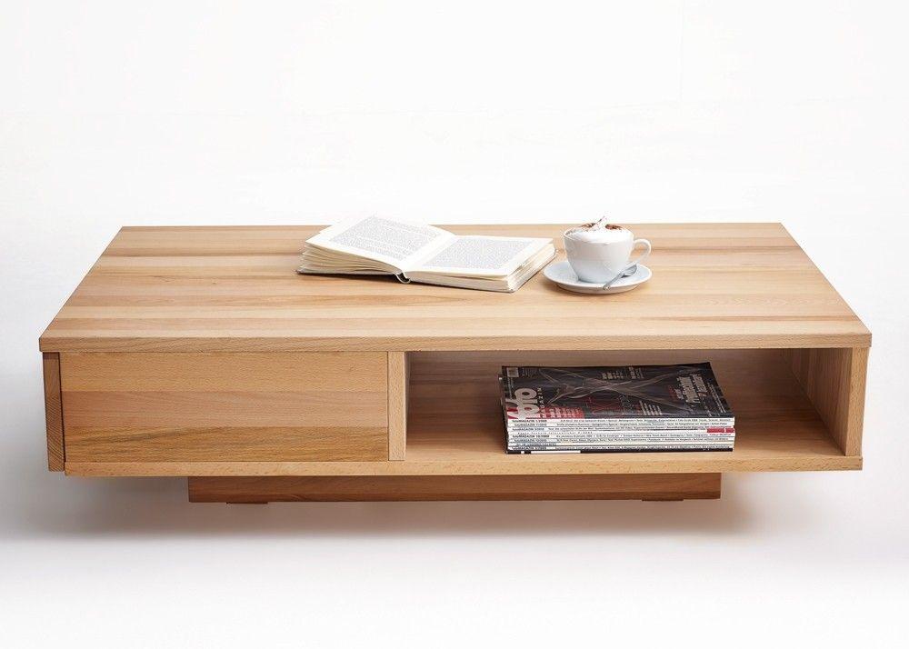 Couchtisch Holz Horst von Gradel Wohnzimmertisch Kernbuche Massiv - wohnzimmertisch kernbuche massiv