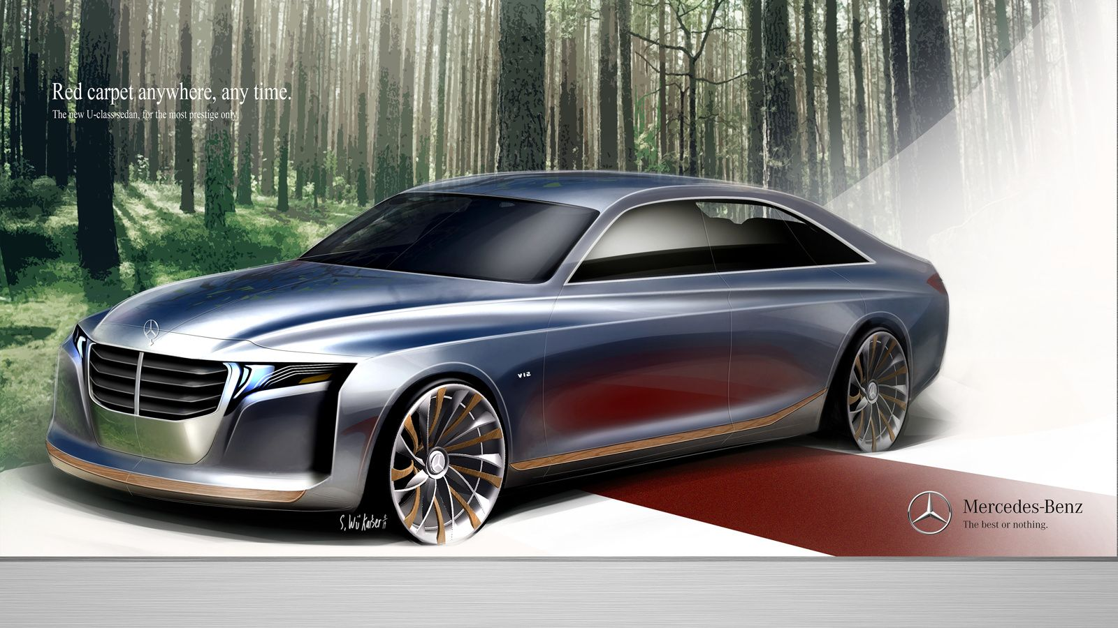 2021 MercedesBenz UClass Concept The Bentley And Rolls