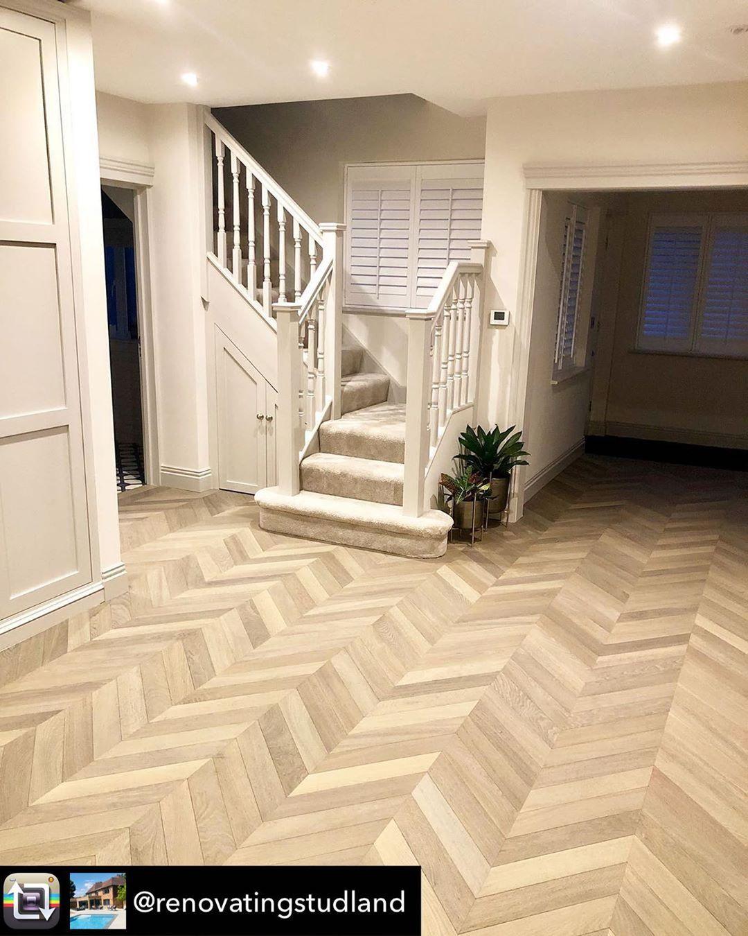 Best Chevron Floor Image By Solid Floor On Stairs Floor 400 x 300