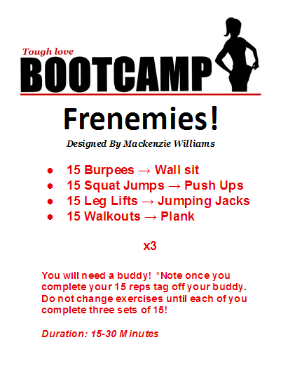 boot camp training routines pdf